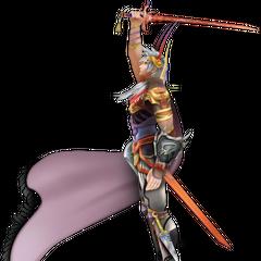 Segunda roupa alternativa de Firion em <i>Dissidia Final Fantasy</i>.