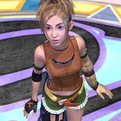 Rikku antes de lutar contra Sin.