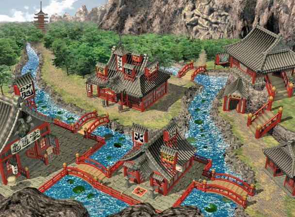 Ff7 Karte.Wutai Village Final Fantasy Wiki Fandom Powered By Wikia