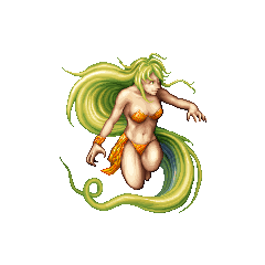 Barbariccia as she appears in <i>Final Fantasy 20th Anniversary</i> and <i>Final Fantasy IV Complete Collection</i>.