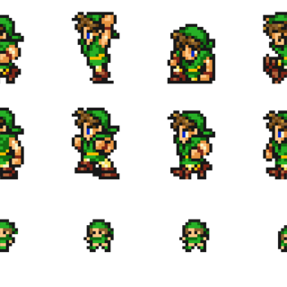 Sprites of the Thief.