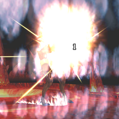 Gilgamesh usando a Excalipoor em <i><a href=