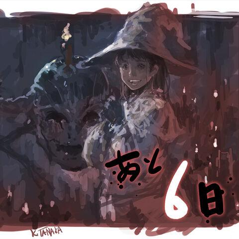 Imagen artística de Edda y Avere para el evento del 1er aniversario de <i>Final Fantasy XIV</i>.