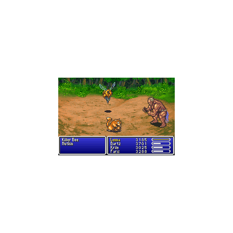 Titan being summoned into battle (GBA).
