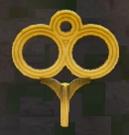 LRFFXIII Gold Windup Key