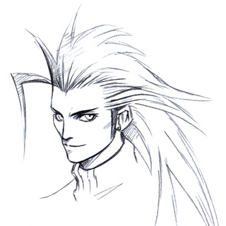 Arte conceitual para <i>Final Fantasy VII</i>.