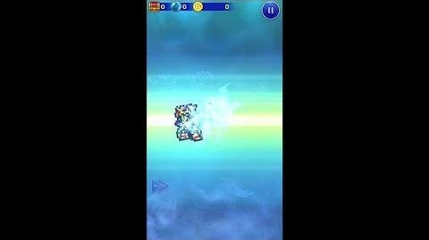 【FFRK】セシル必殺技『セイクリッドクロス』