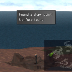 Confuse draw point on the ruins.