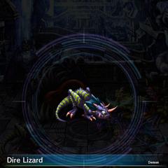 Dire Lizard.