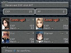 FFIX Level up!
