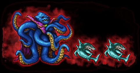 FFRK Ultimate+ Kraken & Shark FFI