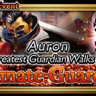 Banner global do evento <i>Ultimate Guardian</i>.