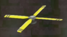 LRFFXIII Yellow Propeller