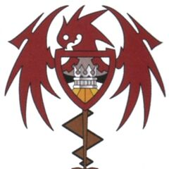 Concept artwork of Lindblum's emblem.