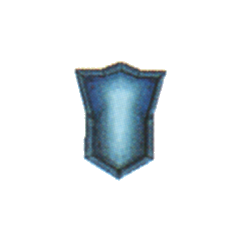 Mythril Shield in <i>Final Fantasy IV</i> (DS).