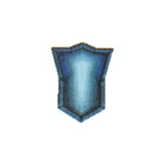 Mythril Shield in <i>Final Fantasy IV</i> (DS).