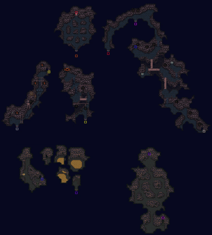 Narshe Mines South Map