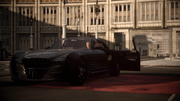 Cor drives the Regalia in FFXV flashback