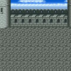 Fundo de batalha (Topo do Castelo Dimensional ) (SNES).