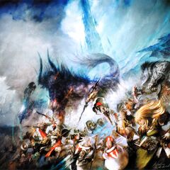 Promotional artwork for <i>A Realm Reborn</i>.