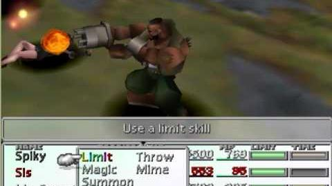 Final Fantasy VII - Limit Break Compilation - Barret Big Shot