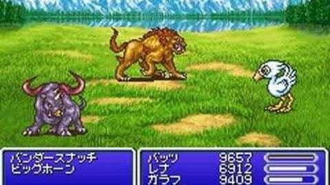 Final Fantasy V Advance Summon - Chocobo