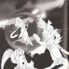 Artwork from <i>The After Years</i> novelization.