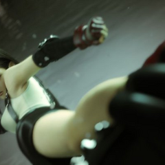 Tifa in the opening FMV.