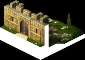 Back Gate of Lesalia Castle 3