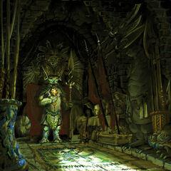 Armory room.