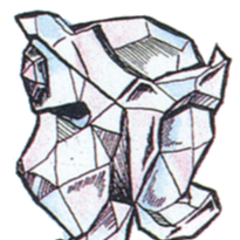 Concept art of Crystal Helm from <i><a href=