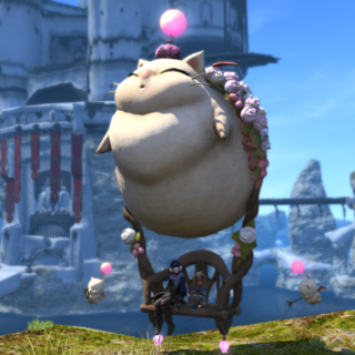 Fat Moogle mount.