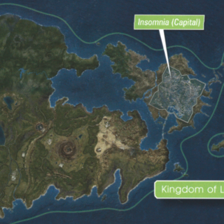 Галад на островах к северо-востоку от Инсомнии.