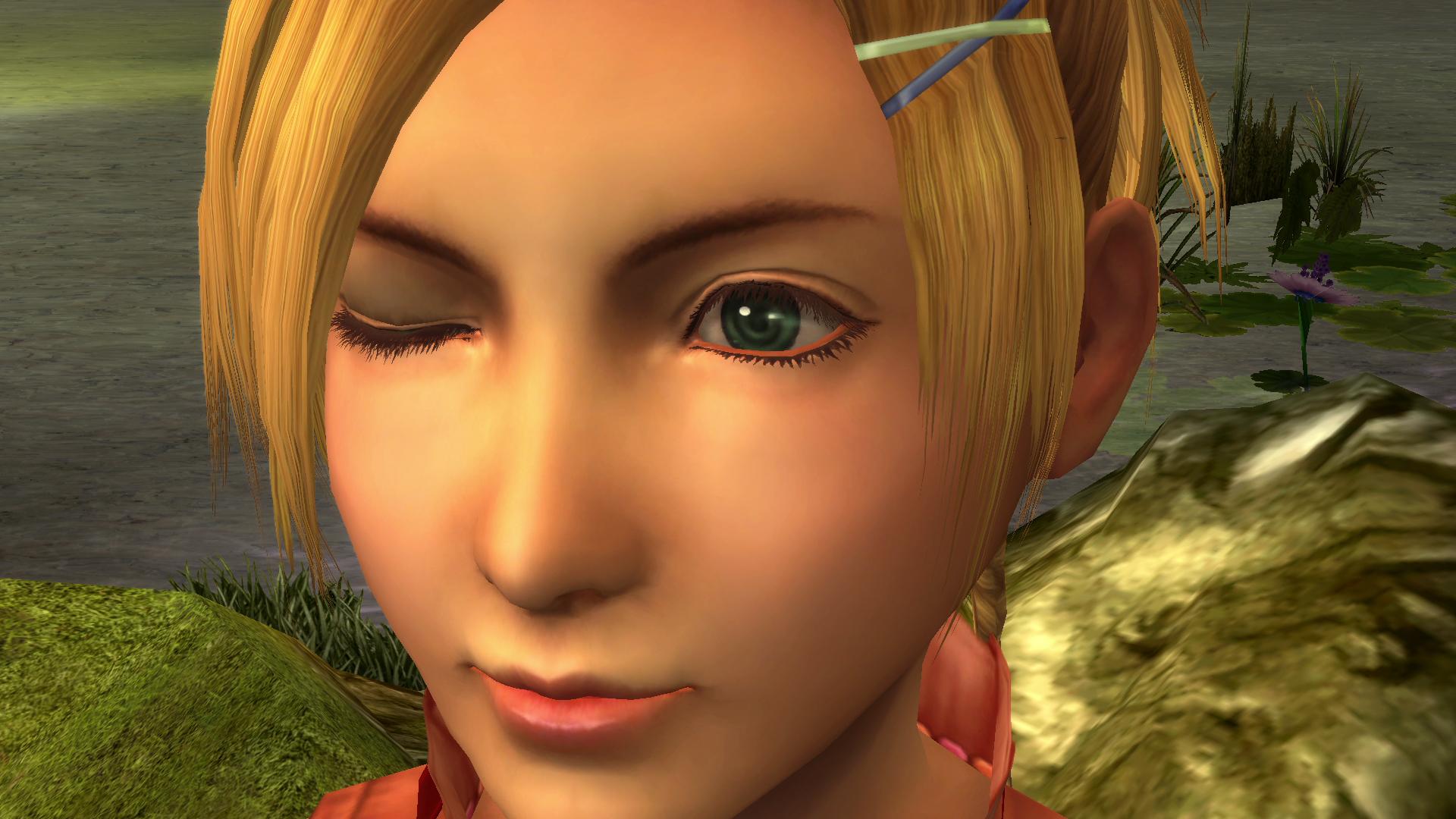 Rikku eye