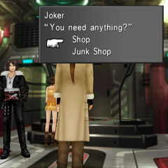 CC Joker's shop within the <i>Ragnarok</i> during endgame.