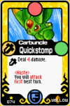 Carbuncle Quickstomp