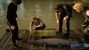 Catching Pink Jade Gar in FFXV
