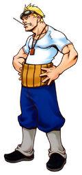 Cid Highwind Kingdom Hearts