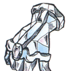 Concept art of Diamond Gloves from <i><a href=
