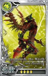 FF12 Adrammelech the Wroth SR L Artniks