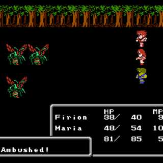 An Ambush attack (NES).