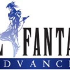 Логотип <i>Final Fantasy IV Advance</i>.