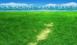 FFIV PSP Grass Battle