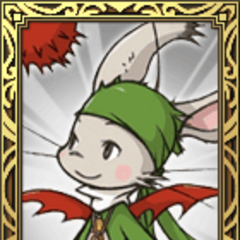 Moogle Thief portrait in <i>Final Fantasy Tactics S</i>.