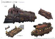 FFXIV Phantom Train concept