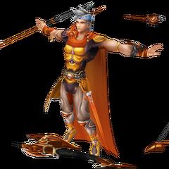 Primeira roupa alternativa de Firion duranto o EX Mode em <i>Dissidia Final Fantasy</i>.