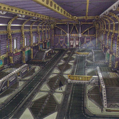 Imperial dreadnought central area.