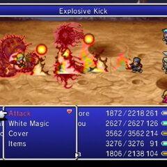 Explosive Kick.