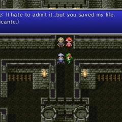 Edge admitting Rubicante saved his life