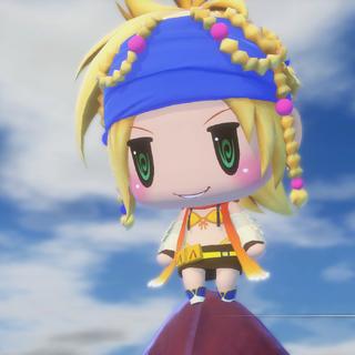 Rikku appears